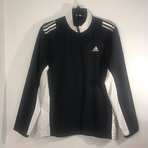 ADIDAS Climalite Black And White jacket  Size L